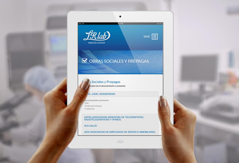 LR LAB - Análisis Clinicos